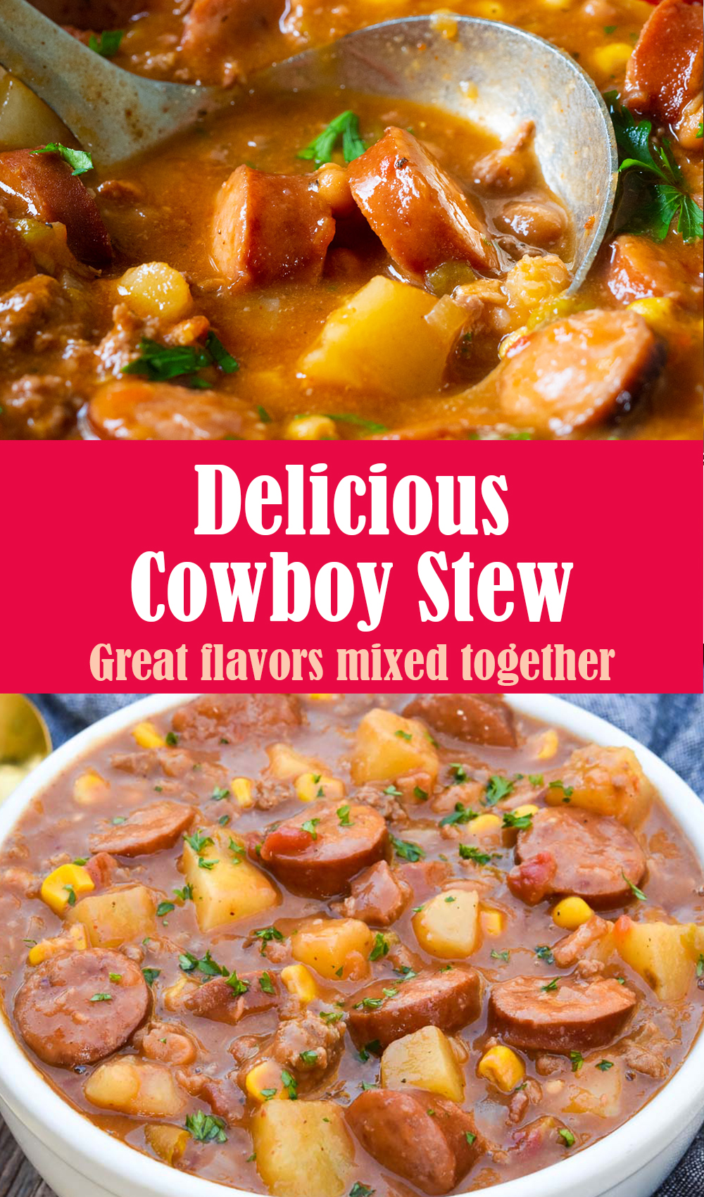Delicious Cowboy Stew Recipe