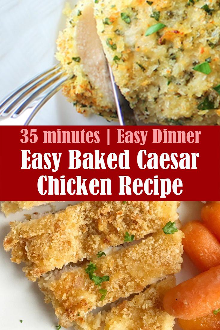 Easy-Baked-Caesar-Chicken-Recipe