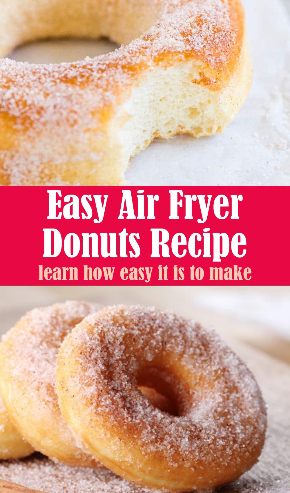 Easy Air Fryer Donuts Recipe